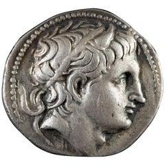 Demetrius Poliorcetes (306–283 BCE) Silver Tetradrachm - Very Fine (TTB)