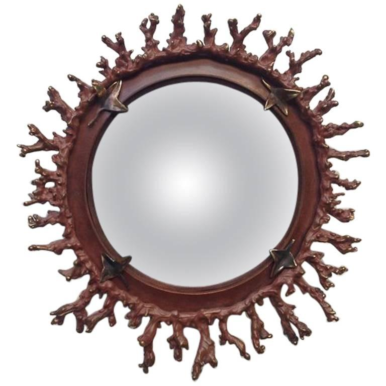 Michel Salerno, Corail Unique Handmade Mirror, France, 2013