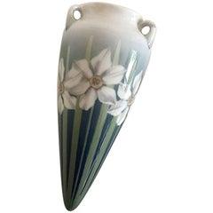 Bing & Grondahl Art Nouveau Hanging Vase by Clara Nielsen No. 599/23