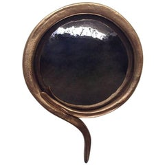 "Michel Salerno,  ""Interrogé ton Cœur,"" Handmade Mirror, France, 2016"