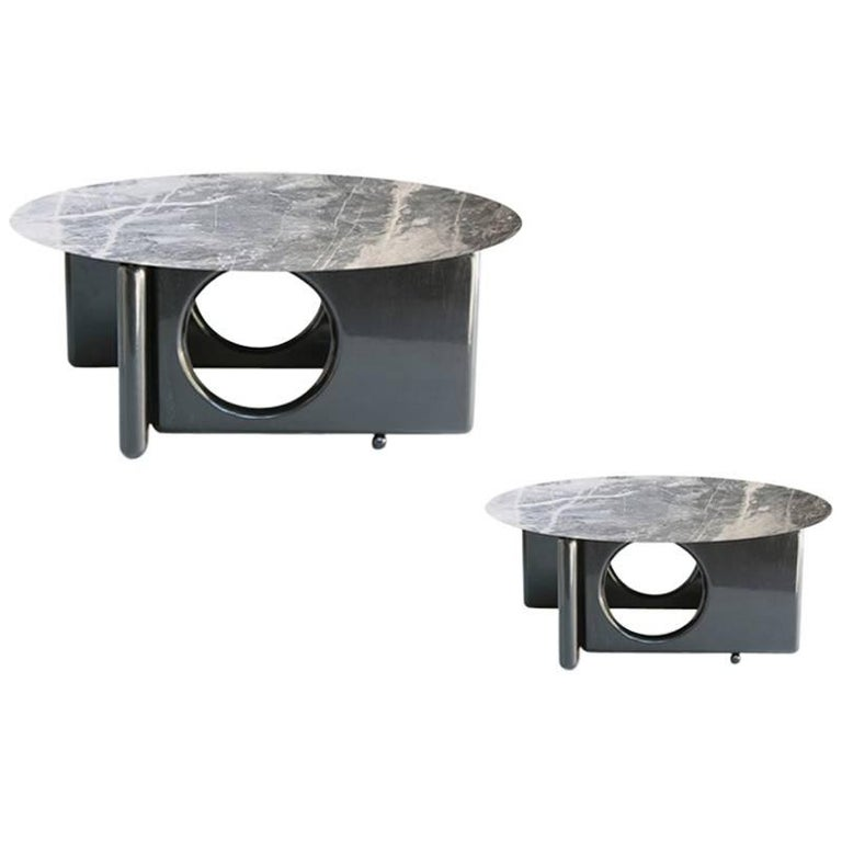 Brazilian Modern Coffee Table by Sergio Rodrigues in Lacquered Wood For Sale