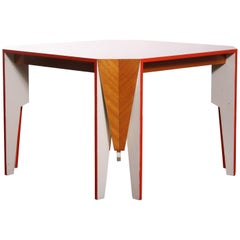 Architectural Dining Table Inspired by Bruce Goff