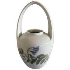Royal Copenhagen Art Nouveau Vase with Handle #364/29