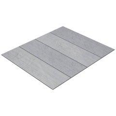 Salvatori Filo Flush 4 / 100 Shower Tray in Raw Texture Bianco Carrara Marble