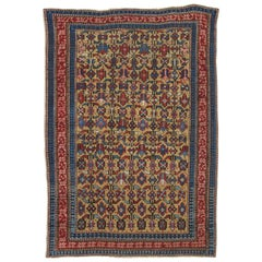 Antique Shirvan Rug, circa 1880 Hand Knotted, Wool Oriental Rug