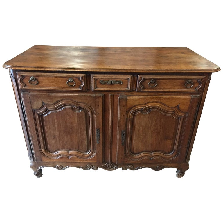 19th Century Louis XV Period Country French Buffet