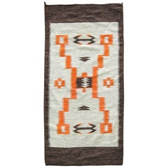 Storm Pattern Navajo Rug, circa 1930