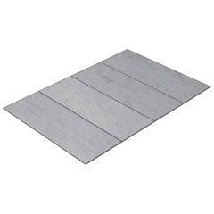 Salvatori Filo Flush 4 / 80 Shower Tray in Raw Texture Bianco Carrara Marble