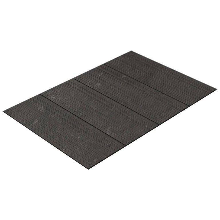 Salvatori Filo Flush 4 / 80 Shower Tray in Raw Texture Pietra d'Avola Stone For Sale