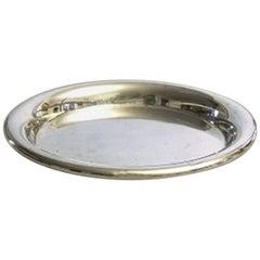French Christofle Silver Plate Tray / Bottlecoaster