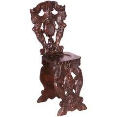 Antique Renaissance Occasional Chair, circa 19th Century