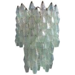 Carlo Scarpa Venini Chandelier Murano Art Glass Italian Design