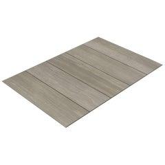Salvatori Filo Flush 5 / 100 Shower Tray in Raw Texture Silk Georgette® Stone