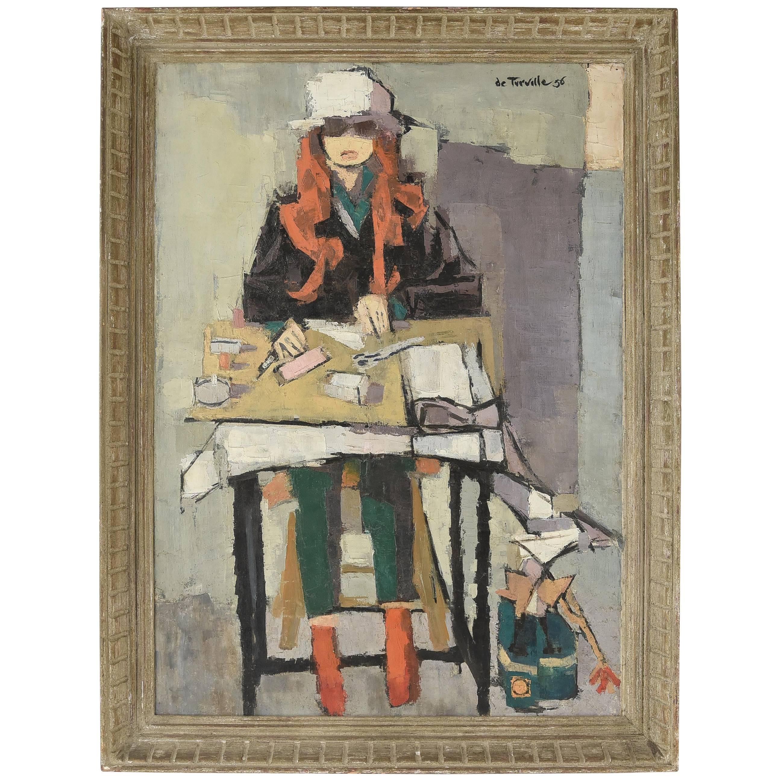 Serge de Turville Oil on Canvas