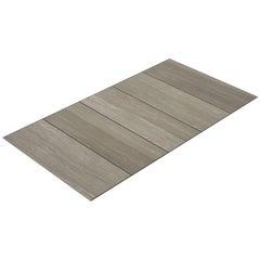 Salvatori Filo Flush 5 / 80 Shower Tray in Raw Texture Silk Georgette® Stone