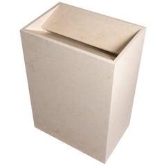 Salvatori Vasco Medium Freestanding Basin in Honed Crema d'Orcia Stone