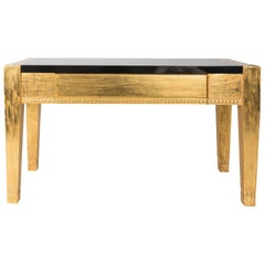 Art Deco Style Gilt Console by J. Robert Scott