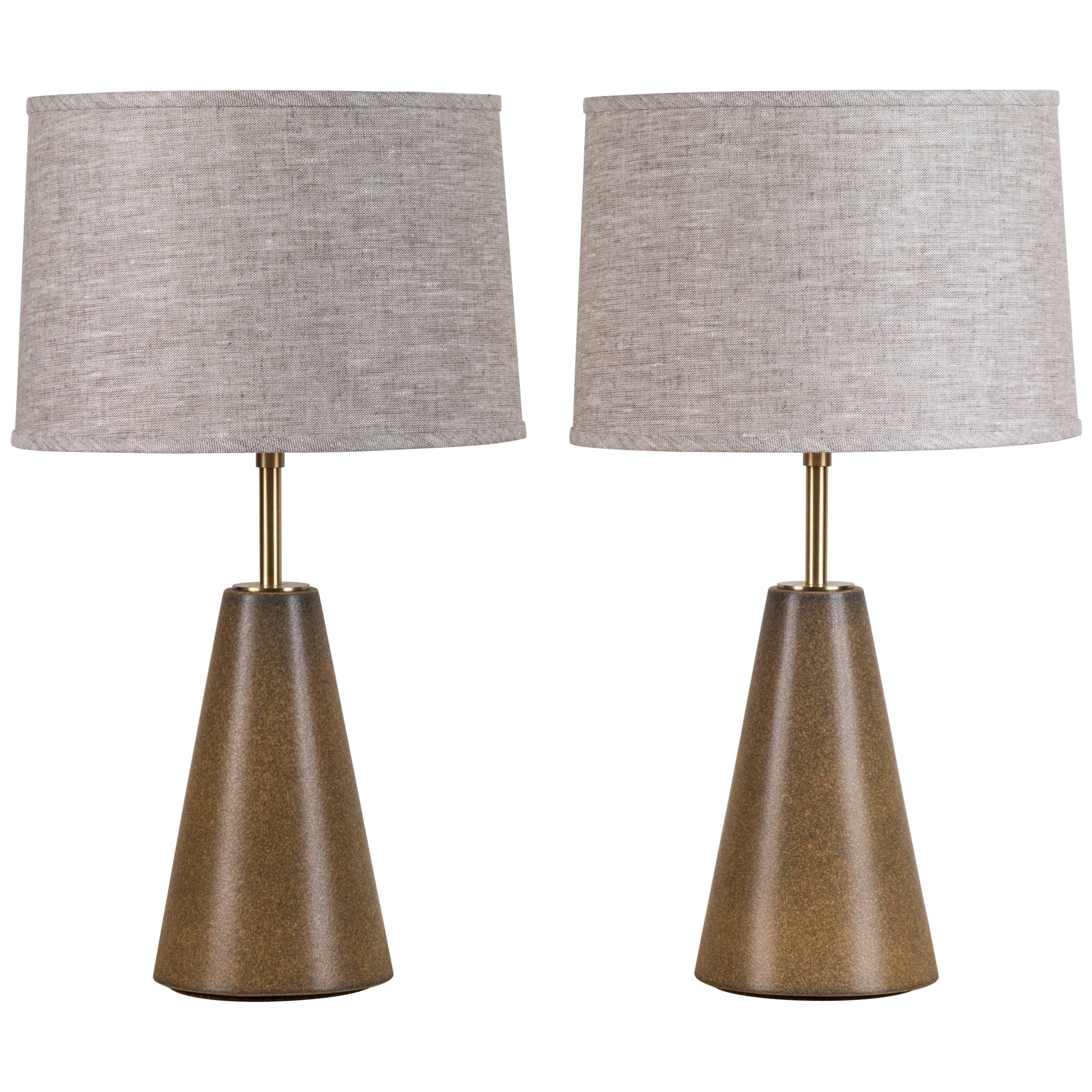Pair of Gio Lamps by Stone and Sawyer for Lawson-Fenning