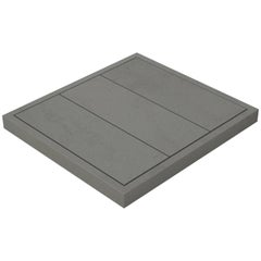 Salvatori Filo Raised 3 / 88 Shower Tray in Sandblasted Lava Stone