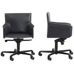 Designer Italian Office Chair leather swivel