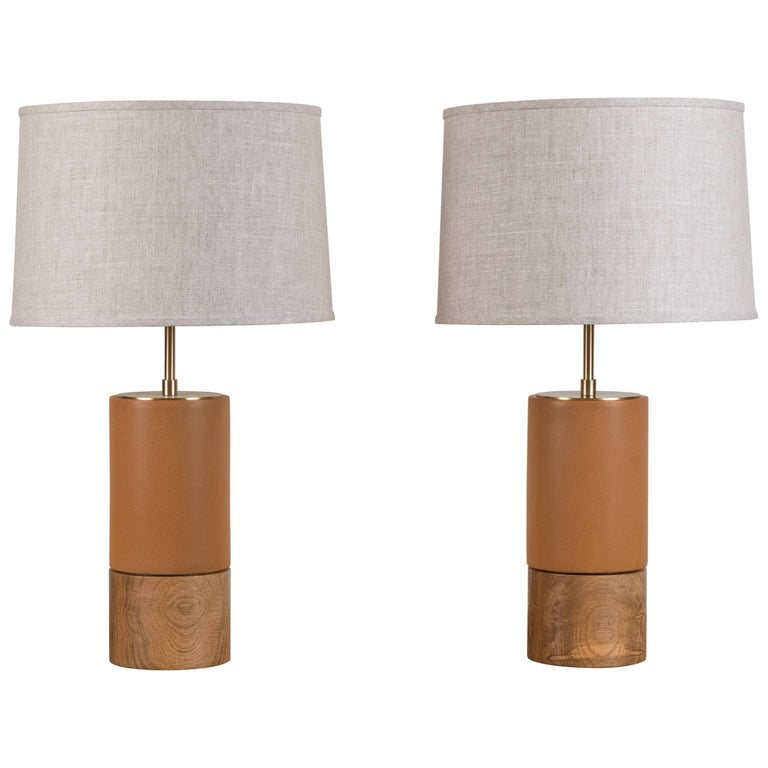 Pair of Small Baxter Lamps by Stone and Sawyer 1