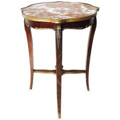 Louis XV Style Marble-Top Guéridon