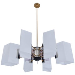 Large Stilux Chandelier