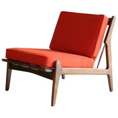 Ib Kofod-Larsen Lounge or Slipper Chair Danish Midcentury