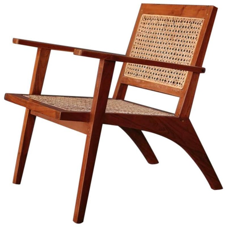 Vintage Easy Chair from India For Sale - Vintage Easy Chair From India For Sale At 1stdibs