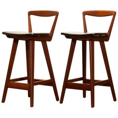 1960s Pair of Barstools by Henry Rosengren Hansen
