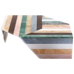 Origami Marble Living Table, Small