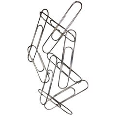 Curtis Jere Paperclip Wall Sculpture