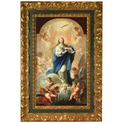 """Immaculate"". Oil on canvas. Maella, M. Salvador (Valencia, 1739-Madrid, 1819)."