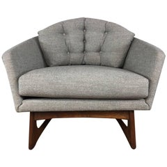 Adrian Pearsall Wide Barrel Lounge Chair for Craft Associates