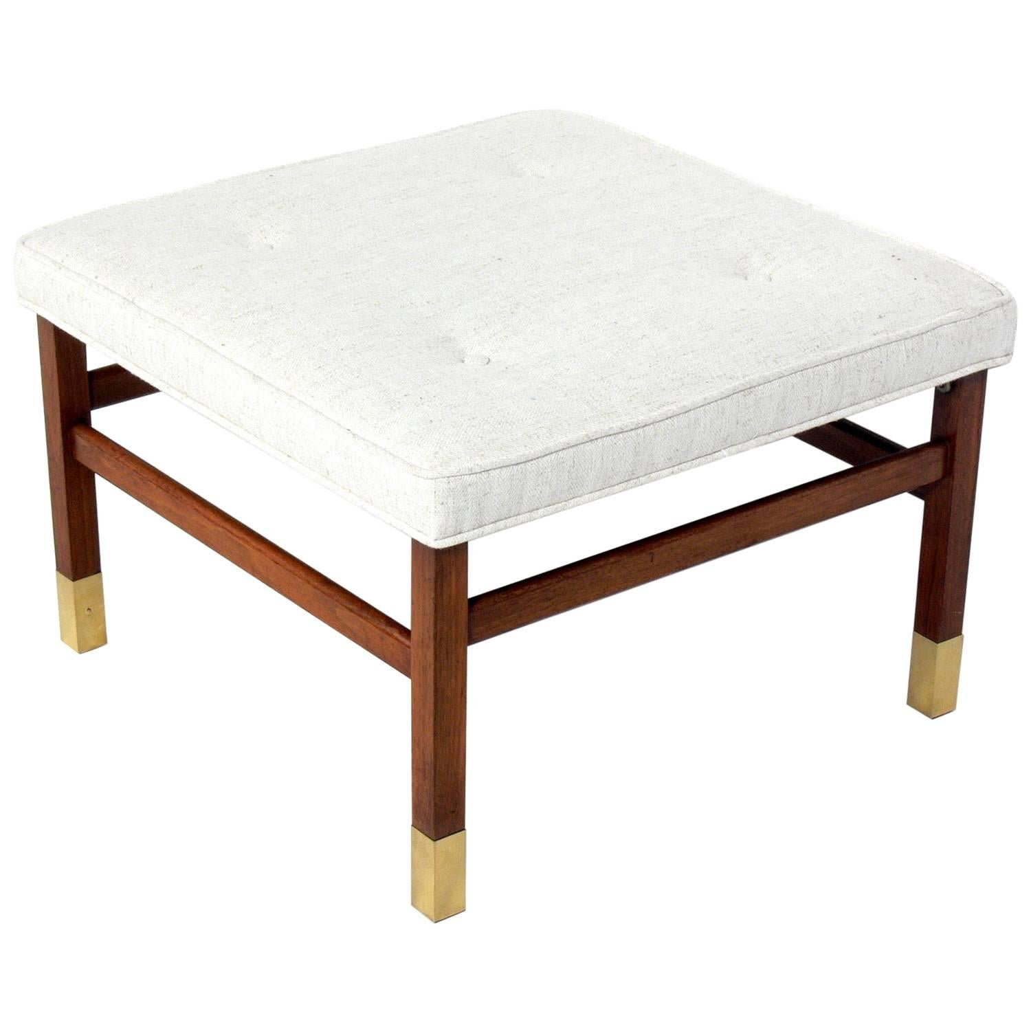 Clean Lined Stool In The Manner Of Harvey Probber
