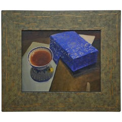 Tea Cup and Blue Box