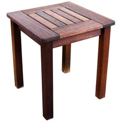 Vintage Windsor Natural Teak Outdoor Side Table