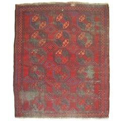 Shabby Chic Antique Ersari Rug