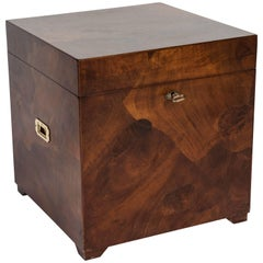 Campaign Style Chest or Side Table