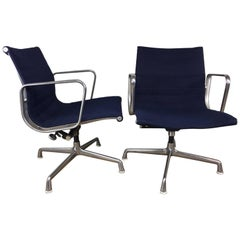 Charles Eames Aluminum Group Management Chair by Herman Miller