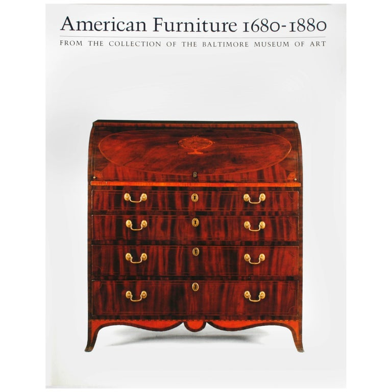American Furniture 1680-1880, Collection From the Baltimore Museum of Art For Sale