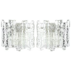 Icicle Glass Sconces by J.T. Kalmar