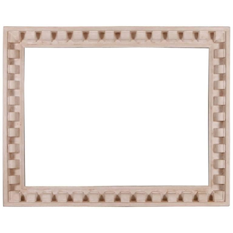 Custom Made Painted Mirror Frame