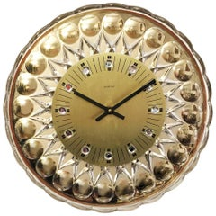 Glass Crystal Wall Clock