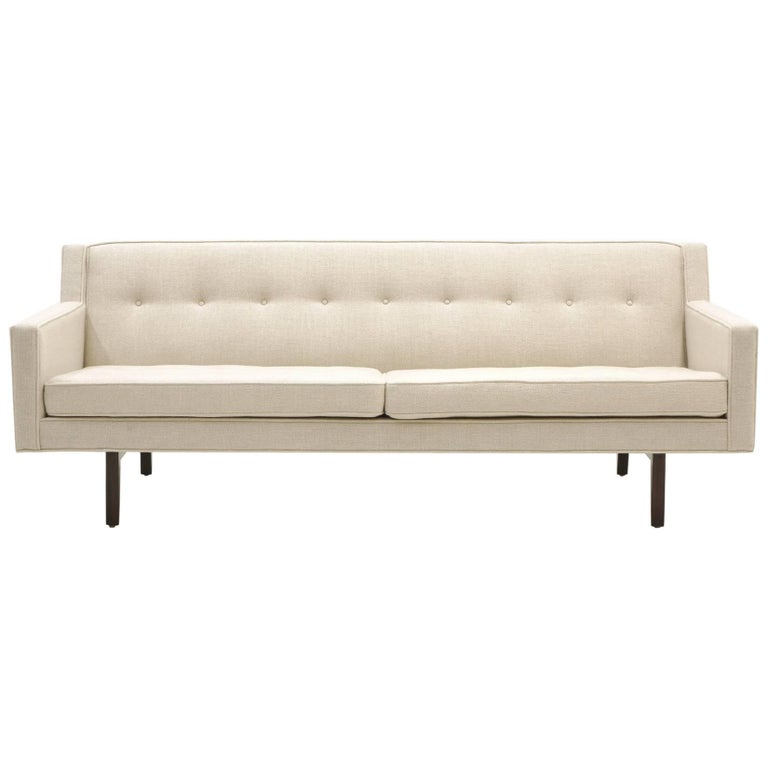 Dunbar High Back Bracket Sofa Designed by Edward Wormley For Sale