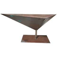 Angular Steel Sculpture