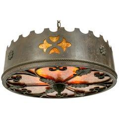 Medieval Revival Mica Pendant