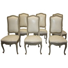Exquisite 19th Century Italian Painted Chairs