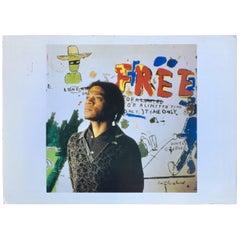 Vintage Basquiat Tseng Kowng Chi Announcement