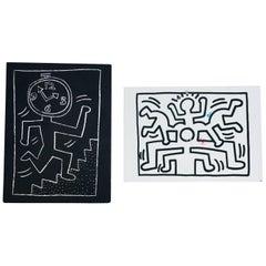 Vintage Keith Haring Handbills, Set of Two